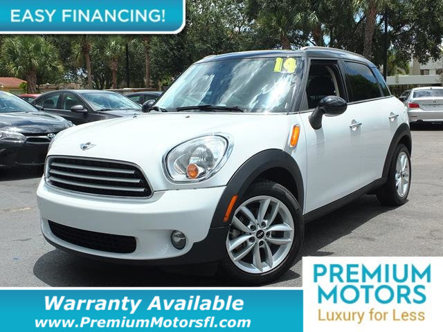 2014 MINI COOPER COUNTRYMAN  LOADED CERTIFIED WARRANTY Dont Pay Retail Get low monthly paymen