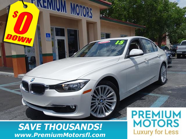 2015 BMW 3 SERIES 328I BUY AND DRIVE WORRY FREE Own this CARFAX 1-Owner and Buyback Guarantee Qua