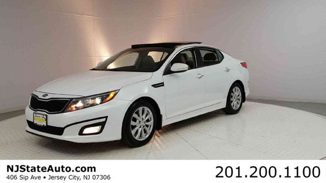 2015 KIA OPTIMA 4DR SEDAN EX CARFAX One-Owner Clean CARFAX Snow White Pearl 2015 Kia Optima EX FW
