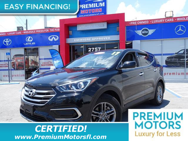 2017 HYUNDAI SANTA FE SPORT 24L AUTOMATIC LOADED CERTIFIED MINT CONDITION 1000s Below Re