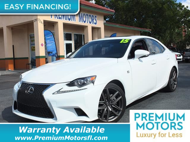 2015 LEXUS IS 250  LOADED CERTIFIED WARRANTY Dont Pay Retail Get low monthly payments on this