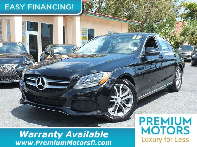 2017 MERCEDES C-CLASS C 300 SEDAN LOADED CERTIFIED FACTORY WARRANTY Fully serviced just sign a