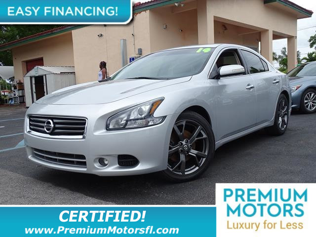 2014 NISSAN MAXIMA 4DR SEDAN 35 S LOADED CERTIFIED WE SAVE YOU THOUSAND