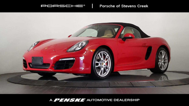 2015 PORSCHE BOXSTER 2DR ROADSTER S Porsche Certified Embraces the oomph factor One owner You d