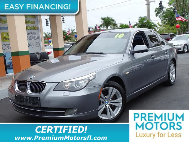 2010 BMW 5 SERIES 528I LOADED CERTIFIED WE SAVE YOU THOUSANDS Fully serviced just sign an