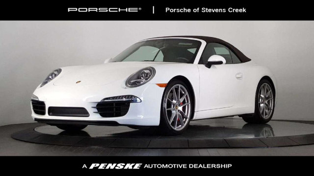 2016 PORSCHE 911 2DR CABRIOLET CARRERA S Porsche Certified Like new Convertible Whens the best