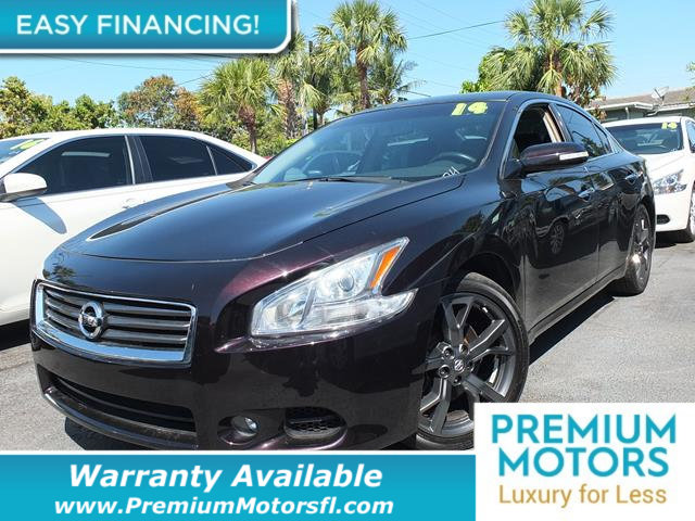 2014 NISSAN MAXIMA  LOADED CERTIFIED FACTORY WARRANTY Fully serviced just sign and drive Don