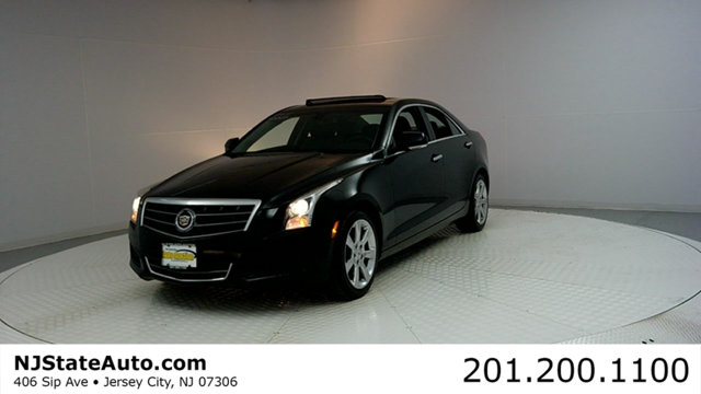 2013 CADILLAC ATS 4DR SEDAN 20L LUXURY RWD CARFAX CERTIFIED 1-OWNER WITH SERVICE RECORDS ATS