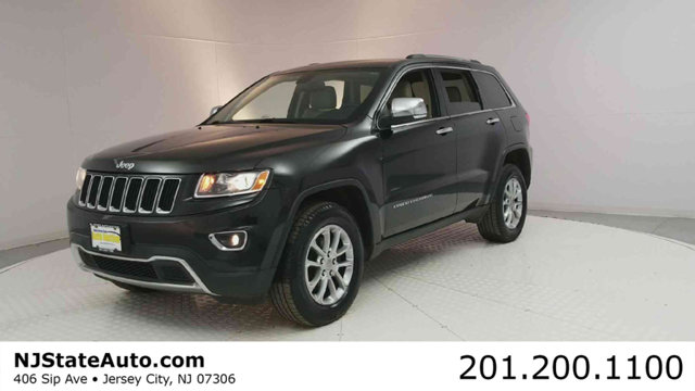 2014 JEEP GRAND CHEROKEE 4WD 4DR LIMITED CARFAX One-Owner Brilliant Black Crystal Pearlcoat 2014 J