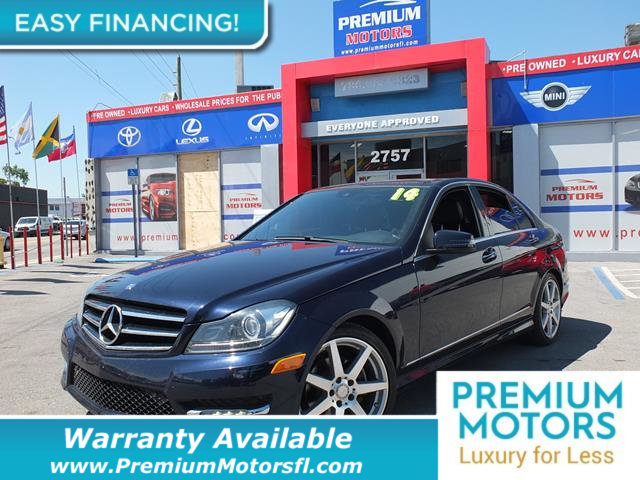 2014 MERCEDES C-CLASS 4DR SEDAN C 250 SPORT RWD LOADED CERTIFIED MINT CONDITION and 1000s Below