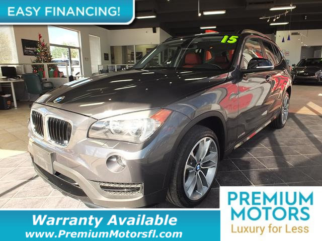 2015 BMW X1 XDRIVE28I LOADED CERTIFIED WE SAVE YOU THOUSANDS Fully serviced just sign and driv