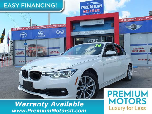 2016 BMW 3 SERIES 320I LOADED CERTIFIED FACTORY WARRANTY Dont Pay Retail Get low monthly paym