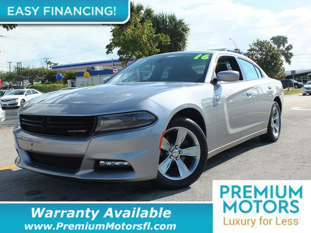 2016 DODGE CHARGER 4DR SEDAN SXT RWD