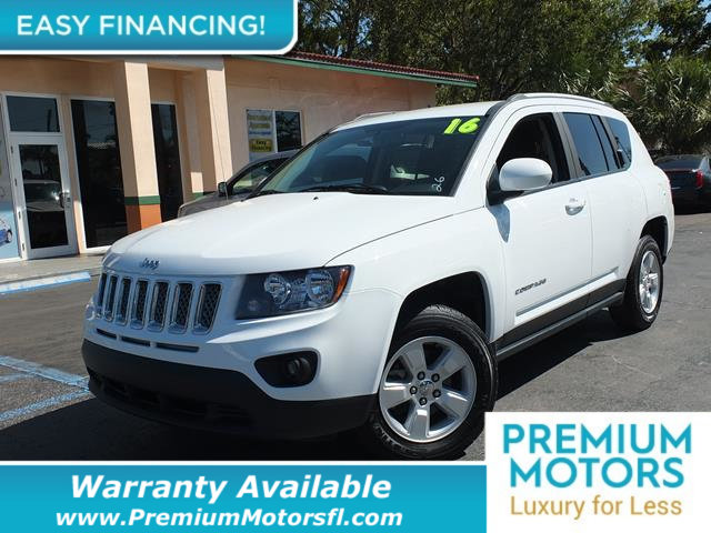 2016 JEEP COMPASS  LOADED CERTIFIED FACTORY WARRANTY Fully serviced just sign and drive Dont