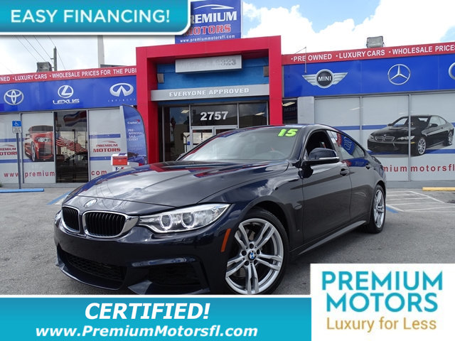 2015 BMW 4 SERIES 428I BMW FOR LESS FACTORY WARRANTY At Premium Motors we have relationshi