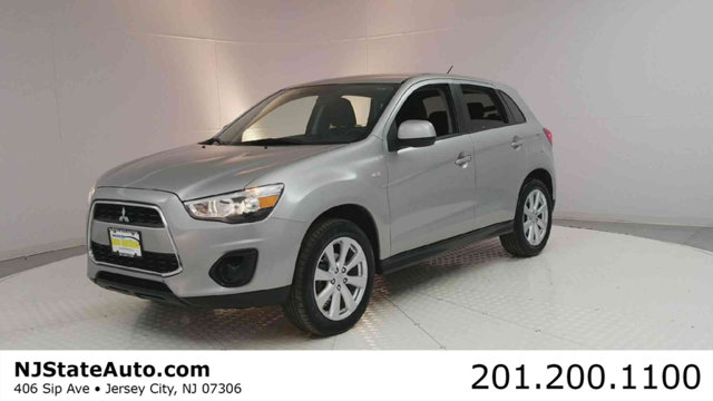 2015 MITSUBISHI OUTLANDER SPORT AWD 4DR CVT ES CARFAX One-Owner Quick Silver Metallic 2015 Mitsubi