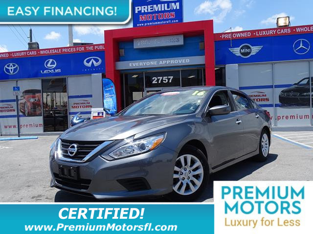 2016 NISSAN ALTIMA 4DR SEDAN I4 25 LOADED CERTIFIED WE SAVE YOU THOUSANDS Fully serviced