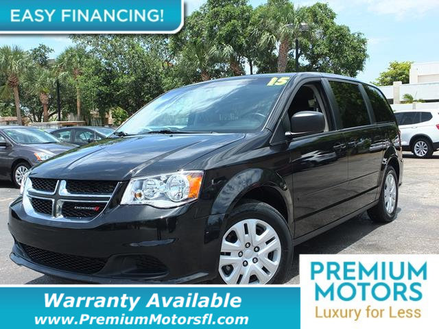 2015 DODGE GRAND CARAVAN SE LOADED CERTIFIED WARRANTY Dont Pay Retail Get low monthly payment