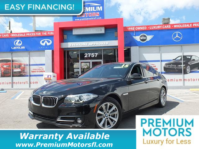2015 BMW 5 SERIES 528I LOADED CERTIFIED FACTORY WARRANTY Fully serviced just sign and drive D