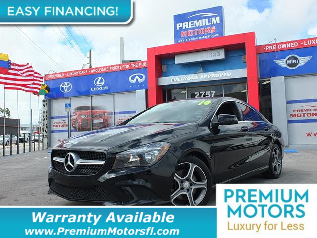 2014 MERCEDES CLA 4DR SEDAN CLA 250 FWD LOADED CERTIFIED WE SAVE YOU THOUSANDS Fully serviced