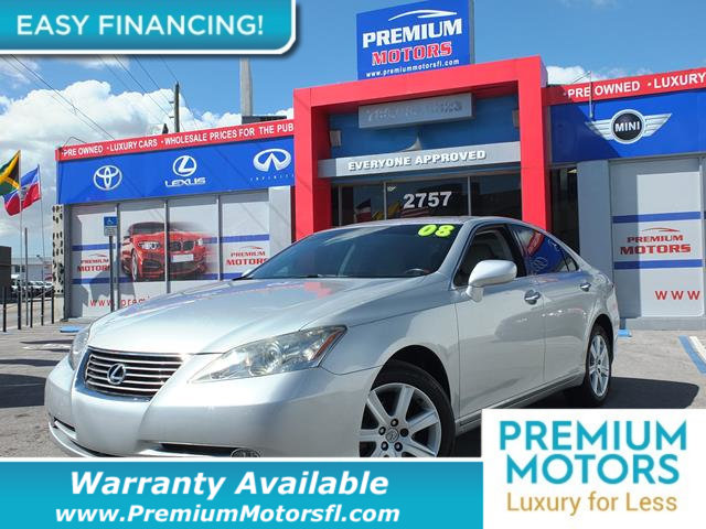 2008 LEXUS ES 350 4DR SEDAN LOADED CERTIFIED WARRANTY Dont Pay Retail Get low monthly payment
