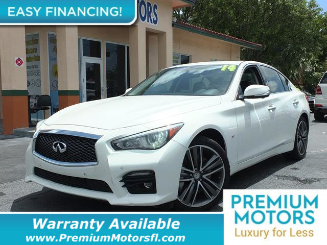 2014 INFINITI Q50 4DR SEDAN AWD SPORT LOADED CERTIFIED WARRANTY Dont Pay Retail Get low month