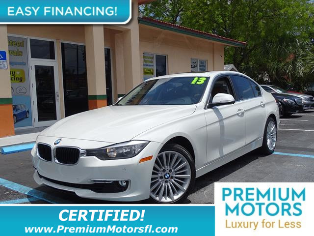 2013 BMW 3 SERIES 328I BMW FOR LESS LOADED At Premium Motors we have relationships with banks l