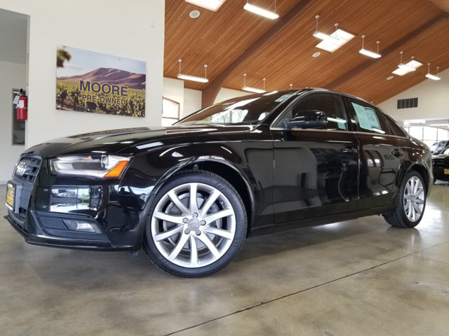 2013 AUDI A4 HEATED LEATHER SEATSPOWER MO REST EASY With its 1-Owner  Buyback Qualified CARF