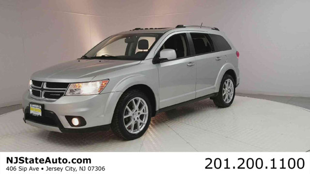 2012 DODGE JOURNEY AWD 4DR CREW CARFAX One-Owner Bright Silver Metallic 2012 Dodge Journey Crew A