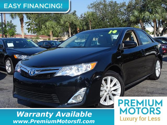 2014 TOYOTA CAMRY HYBRID  LOADED CERTIFIED WARRANTY Dont Pay Retail Get low monthly payments
