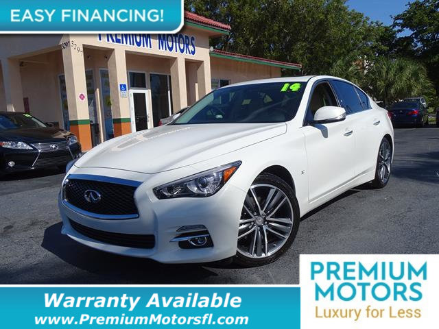 2014 INFINITI Q50 4DR SEDAN RWD LOADED CERTIFIED WE SAVE YOU THOUSANDS Dont Pay Retail Get l