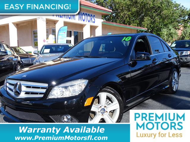 2010 MERCEDES C-CLASS C300 KEY FEATURES AND OPTIONS Comes equipped with Air Conditioning Sunroof