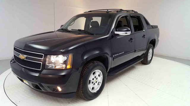 2007 CHEVROLET AVALANCHE 4WD CREW CAB 130 LT W1LT Black 2007 Chevrolet Avalanche 1500 LT 4WD 4-S