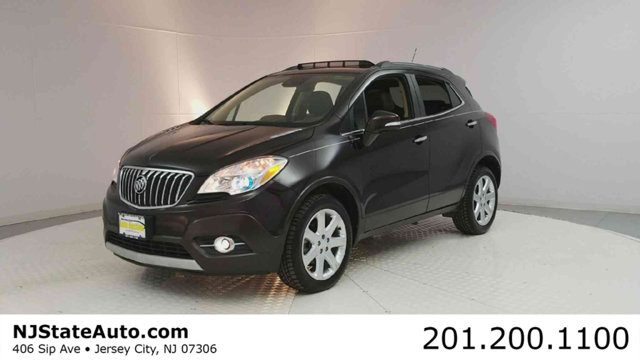 2015 BUICK ENCORE AWD 4DR PREMIUM CARFAX One-Owner Clean CARFAX Deep Espresso Brown Metallic 2015