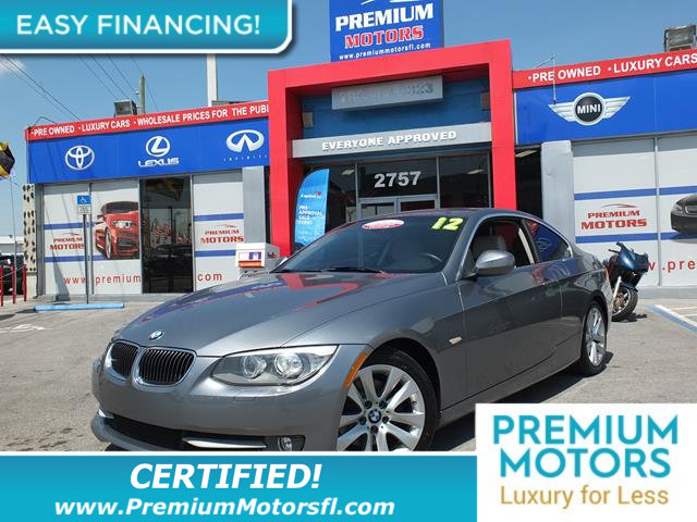 2012 BMW 3 SERIES COUPER 328I RWD LOADED CERTIFIED WE SAVE YOU THOUSANDS Fully serviced j