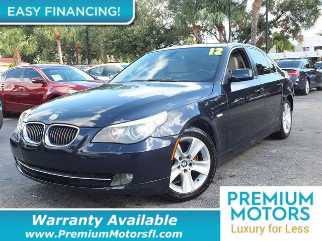 2009 BMW 5 SERIES 528I REST EASY With its Buyback Qualified CARFAX report you can rest easy with
