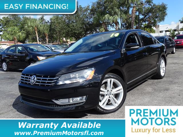 2014 VOLKSWAGEN PASSAT 4DR SEDAN 18T AUTOMATIC SEL PRE LOADED CERTIFIED WE SAVE YOU THOUSANDS