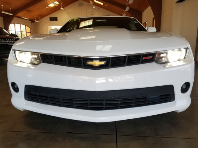 2015 CHEVROLET CAMARO STYLISHRS PACKAGECHROME WH BUY AND DRIVE WORRY FREE Own this CARFAX 1