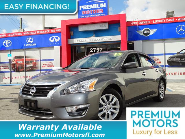 2015 NISSAN ALTIMA  LOADED CERTIFIED WE SAVE YOU THOUSANDS Fully serviced just sign and drive