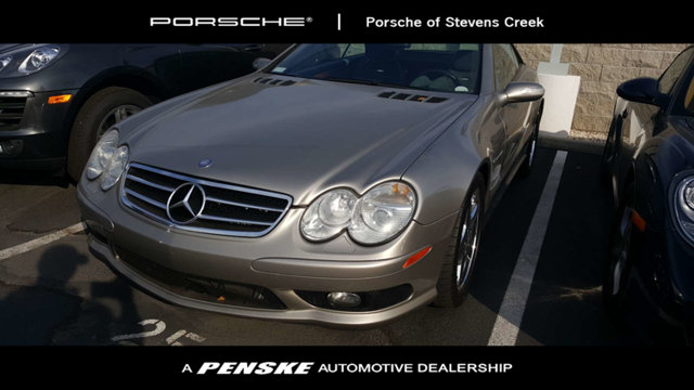 2004 MERCEDES SL-CLASS 2DR ROADSTER 55L AMG So few miles means its like new Gently used There