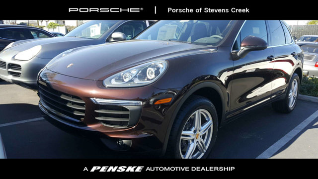 2018 PORSCHE CAYENNE AWD LOADED WITH VALUE Comes equipped with Air Conditioning Bluetooth Navi