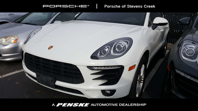 2015 PORSCHE MACAN AWD 4DR S CARFAX One-Owner White 2015 Porsche Macan S AWD 7-Speed Porsche Dopp