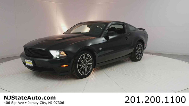 2010 FORD MUSTANG 2DR COUPE GT CARFAX One-Owner Black 2010 Ford Mustang GT RWD 5-Speed Manual 46