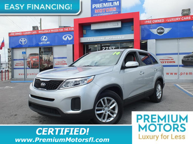 2014 KIA SORENTO 2WD 4DR I4 LX LOADED CERTIFIED WE SAVE YOU THOUSANDS Fully serviced just sign