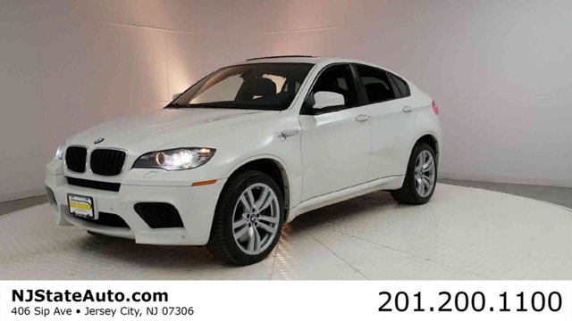 2012 BMW X6 M  CARFAX One-Owner Alpine White 2012 BMW X6 M AWD 6-Speed Automatic with M Sport 44