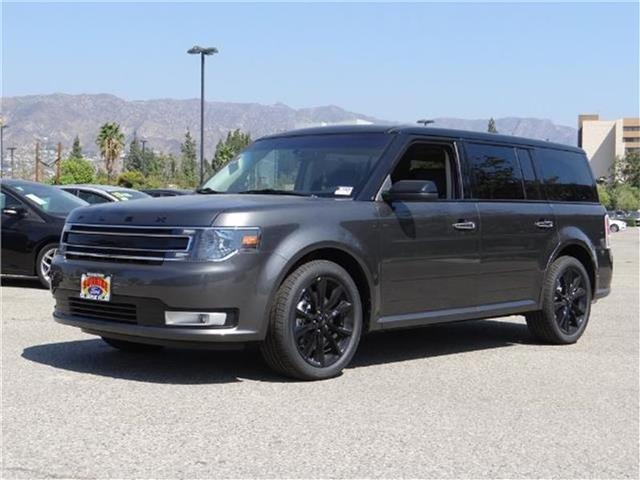 2018 Ford Flex SEL Front-wheel Drive Miles 1Color MAGNETIC METALL Stock M80043 VIN 2FMGK5C88