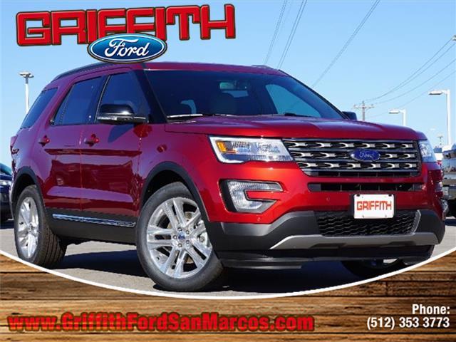 2017 Ford Explorer XLT Front-wheel Drive Miles 74Color RUBY RED METALL Stock 14308N VIN 1FM5