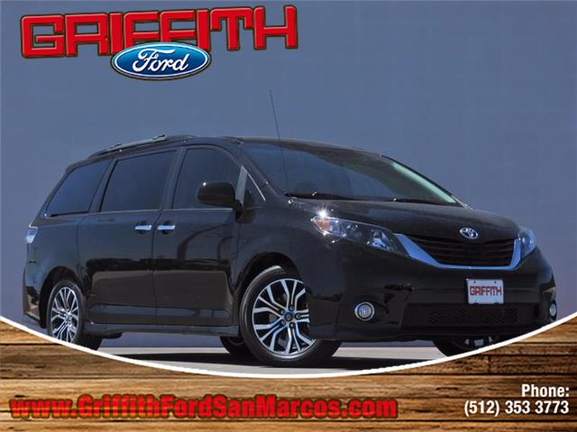 2013 Toyota Sienna SE 8 Passenger Front-wheel Drive Passenger Van Look no further this 2013 Toyota