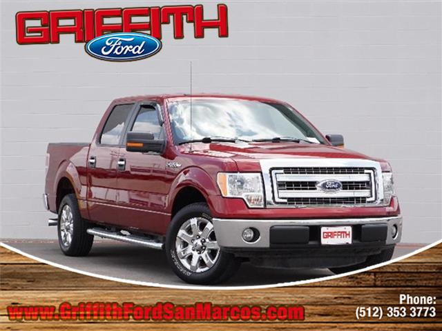 2014 Ford F-150 XLT 4x2 SuperCrew Cab Styleside 55 ft box 145 in WB Look no further this 2014 F