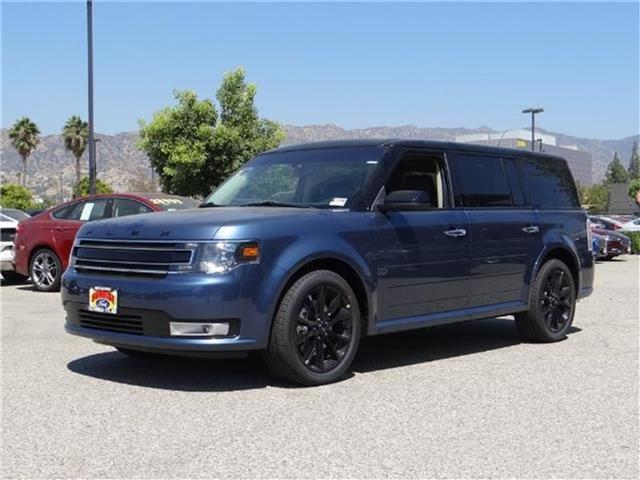 2018 Ford Flex SEL Front-wheel Drive Miles 1Color BLUE METALLIC Stock M80025 VIN 2FMGK5C8XJB